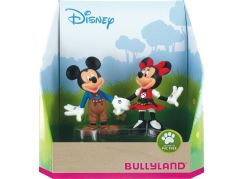 Bullyland Disney Mickey a Minnie v kroji set 2ks