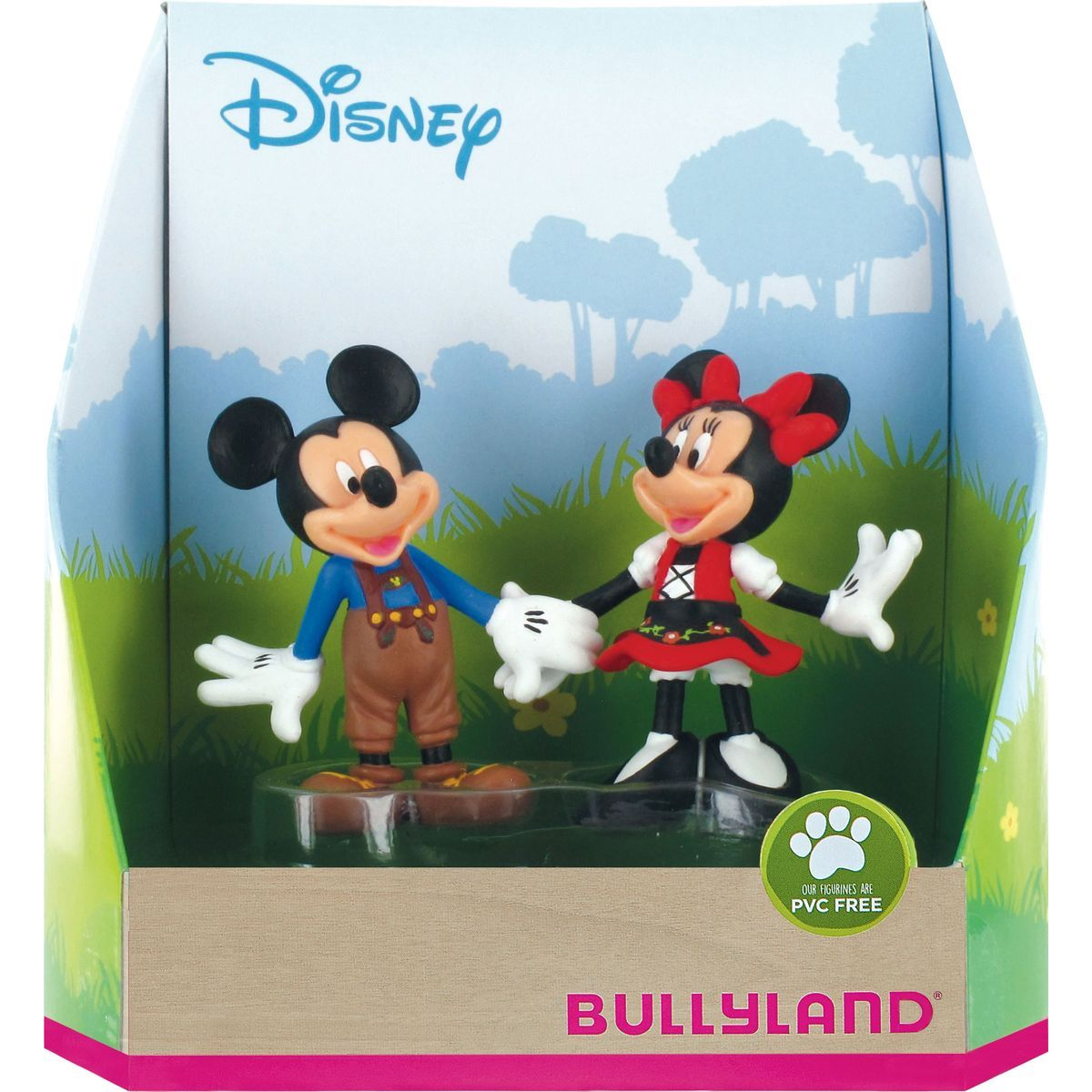 Bullyland Disney Mickey a Minnie v kroji set 2ks