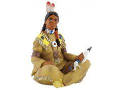 Bullyland Indián sedící