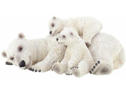 Bullyland Lední mědvěd s mláďaty