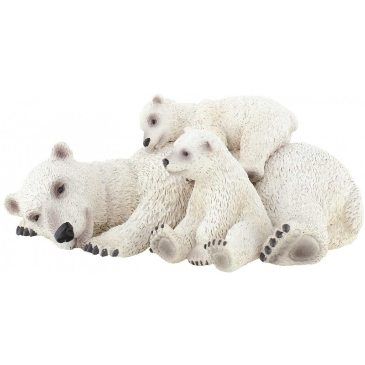 Bullyland Lední medvěd s mláďaty