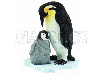 Bullyland Tučňák s mládětem