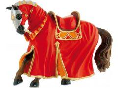 Bullyland Turnajový kůň červený