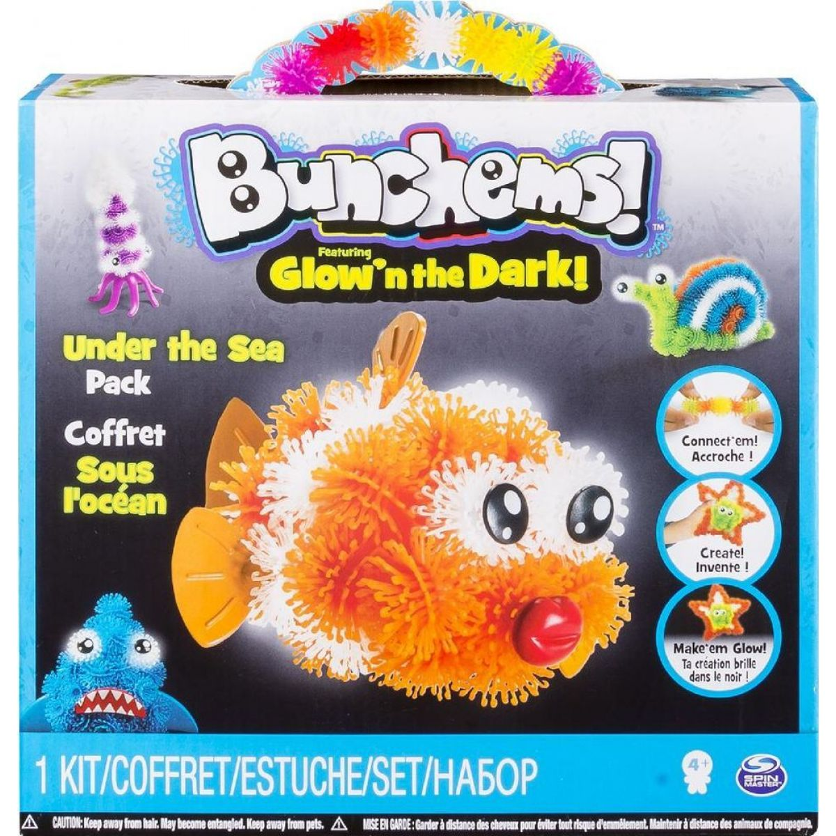 Bunchems Glown The Dark - Under The Sea
