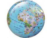 Caly Nafukovací globus Zvířata 30 cm