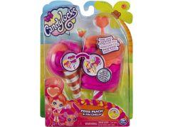 Candylocks voňavé panenka se zvířátkem Posie Peach a Fin-Chilla