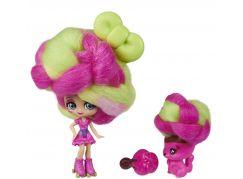 Candylocks voňavá panenka se zvířátkem Straw-Carrie Mudslide a Squeaky Squirrel