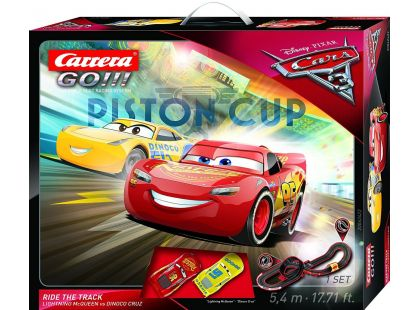 Carrera GO Autodráha 62422 Cars 3 Ride Track