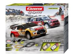 Carrera GO Autodráha 62433 Lets Rally