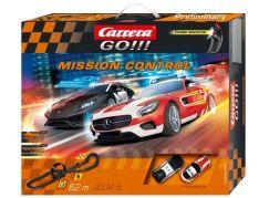 Carrera GO Autodráha 62465 Mission Control