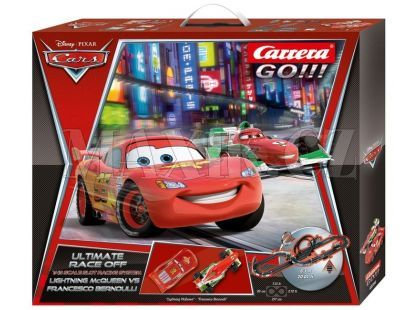 Carrera GO Autodráha Disney Cars 2 Ultimate Race off