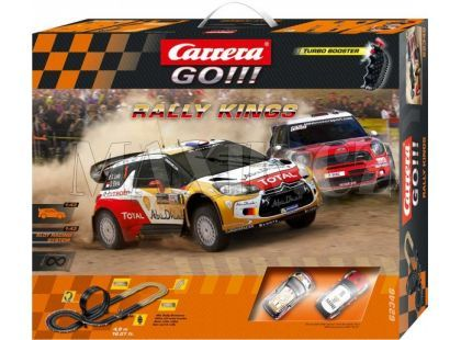 Carrera GO! Autodráha Rally Kings