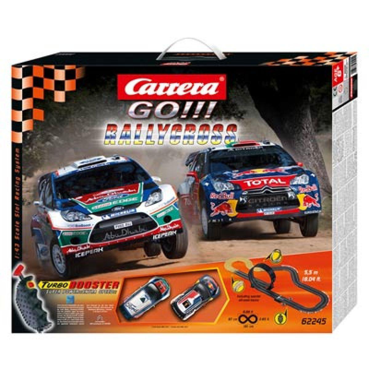 Carrera GO! Autodráha Rallycross