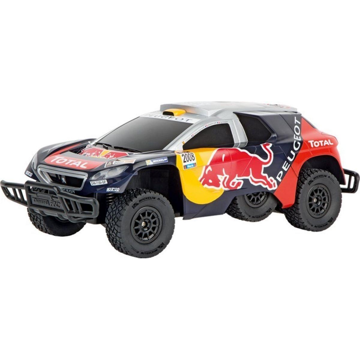 Carrera RC auto Peugeot Dakar 1:16