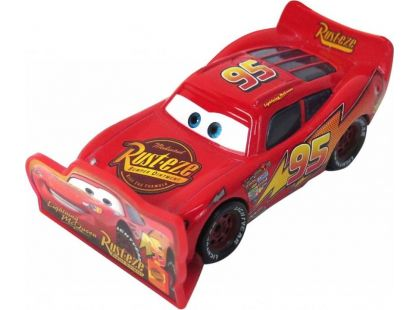 Cars 2 Auta Mattel W1938 - Lightning McQueen with sign
