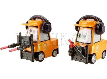 Cars 2 Auta Mattel W1938 - Nat Mclugnut a Michael Honksel