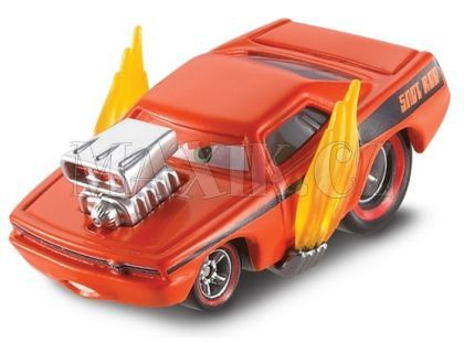 Cars 2 Auta Mattel W1938 - Snot Rod with flames