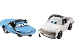 Cars 2 autíčka 2ks Mattel Y0506 - Artie a Brian