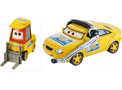Cars 2 autíčka 2ks Mattel Y0506 - Chief a Petrol Pulaski
