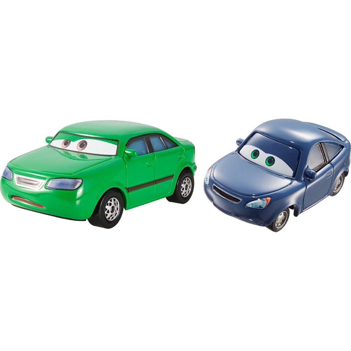 Cars 2 autíčka 2ks Mattel Y0506 - Dan Sclarkenberg a Kim Carllins