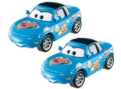 Cars 2 autíčka 2ks Mattel Y0506 - Dinoco Mia a Dinoco Tia
