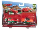 Cars 2 autíčka 2ks Mattel Y0506 - Francesco Bernoulli a Giuseppe Motorosi 2