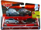 Cars 2 autíčka 2ks Mattel Y0506 - Heather Drifeng a Michelle Motoretta 2