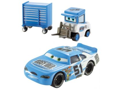 Cars 2 autíčka 2ks Mattel Y0506 - Ruby Oaks a Easy Idle Pitty