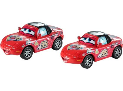 Cars 2 autíčka 2ks Mattel Y0506 - Superfan a Superfan