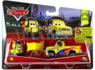 Cars 2 autíčka 2ks Mattel Y0506 - Jeff Gorvette Pitty a John Lassetire 2