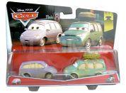 Cars 2 autíčka 2ks Mattel Y0506 - Mini a dodávka v poušti