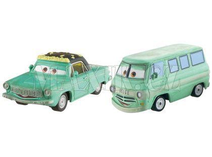 Cars 2 autíčka 2ks Mattel Y0506 - Rusty Klink a Dusty Klenk
