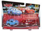 Cars 2 autíčka 2ks Mattel Y0506 - Sally a McQueen 2