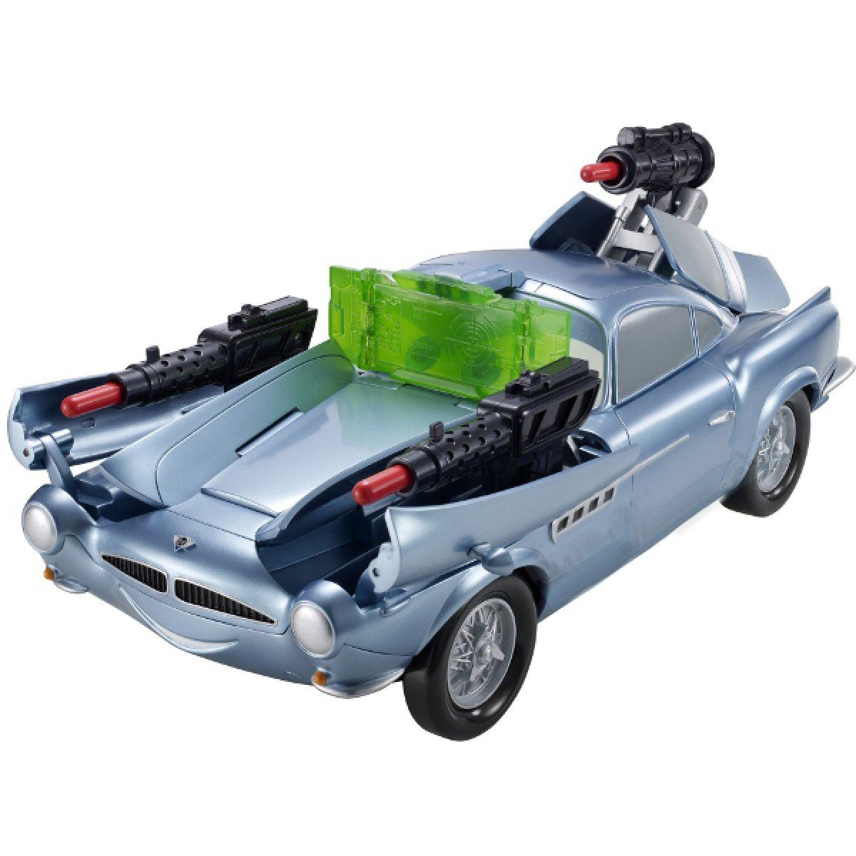 Cars 2 Vyzbrojený Finn Raketa Mattel V9150