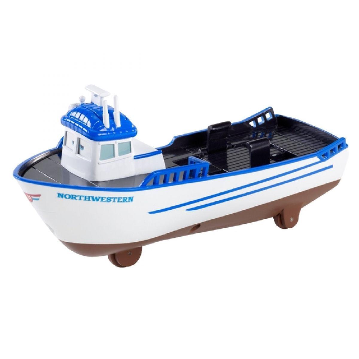 Cars Transportéry s měnitelnými prvky Mattel X0612 - Deluxe Crabby Boat