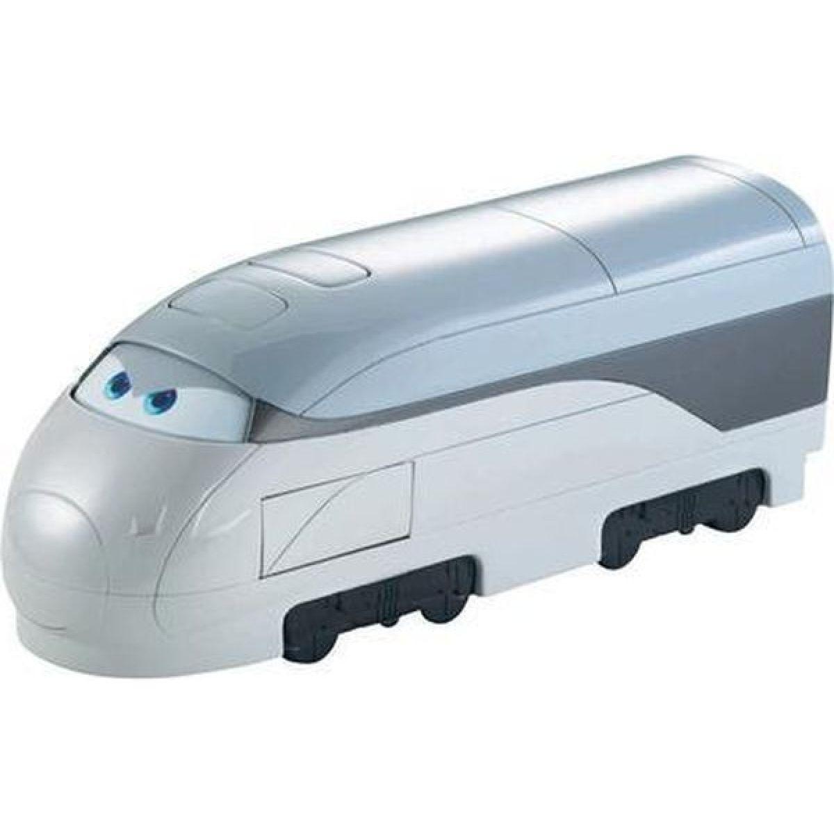 Cars Transportéry s měnitelnými prvky Mattel X0612 - Deluxe Spy Train Transporter