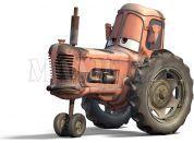 Cars Velká auta Mattel Y0539 - Tractor