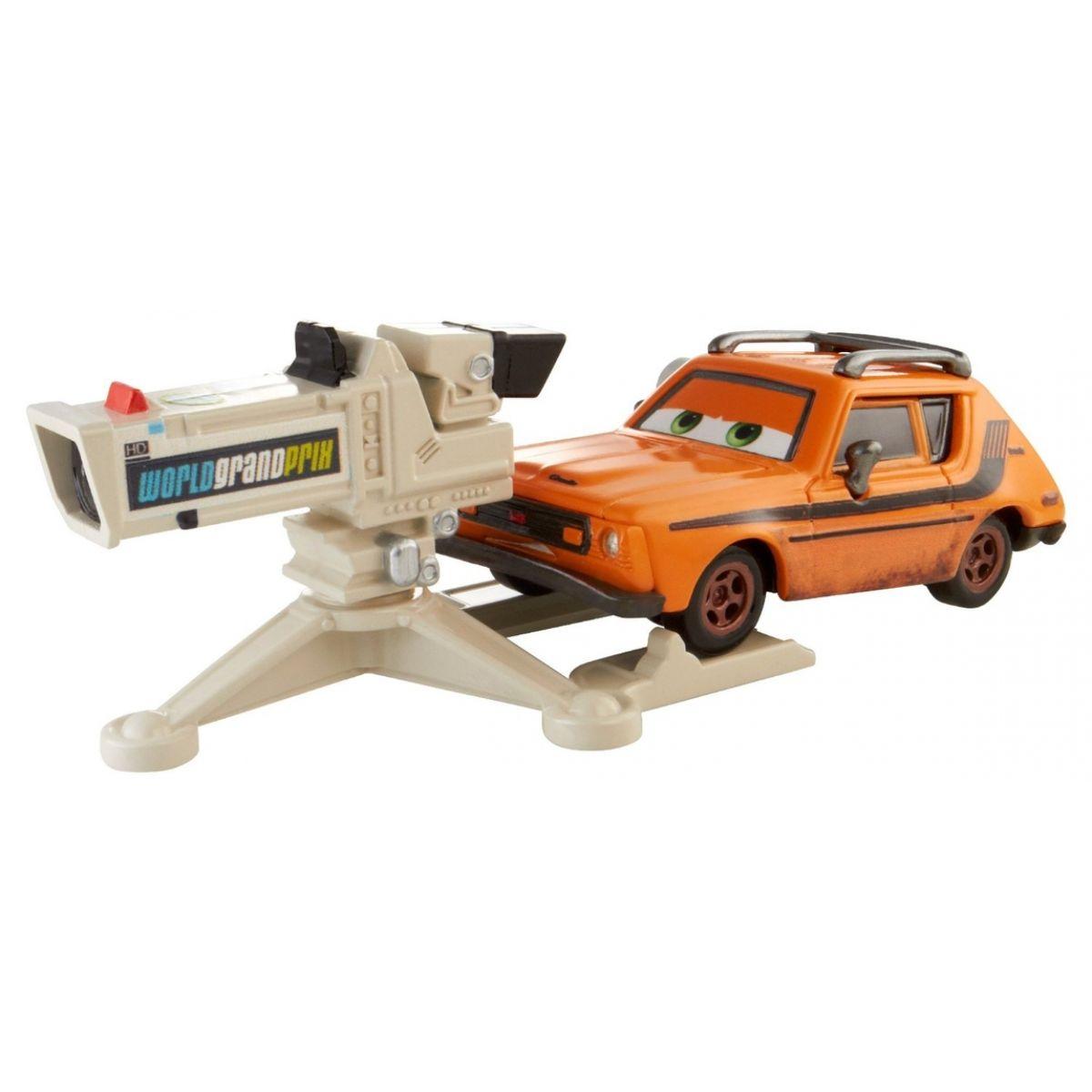 Cars Velká auta Mattel Y0539 - Grem with camera