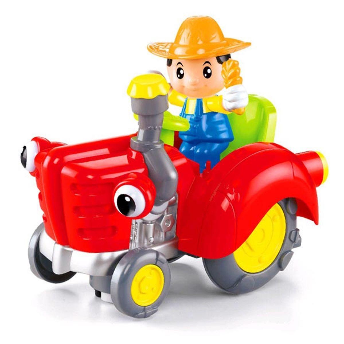 CarToon Traktor - Červená
