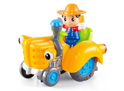 CarToon Traktor - Oranžová