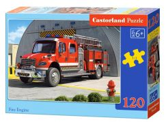 Castorland Puzzle 120 dílků Hasiči