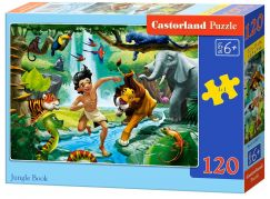 Castorland Puzzle 120 dílků Kniha Džunglí
