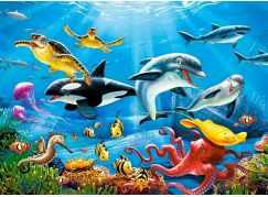 Castorland Puzzle 200 dílků premium Tropický podvodný svět