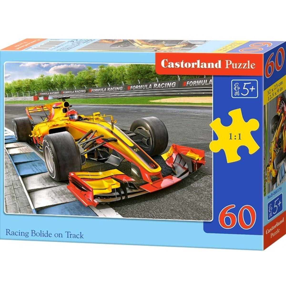 Castorland Puzzle Formule na trati 60 dílků