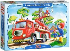Castorland Puzzle Hasiči 30 dílků