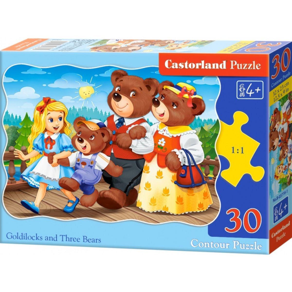 Castorland Puzzle Mašenka 30 dílků