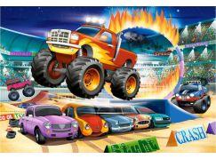 Castorland Puzzle MAXI 40 dílků Skákající Monster Truck