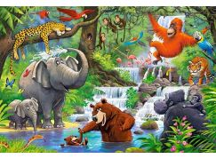 Castorland Puzzle MAXI 40 dílků Zvířata z džungle