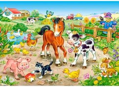 Castorland Puzzle Na farma 120 dílků