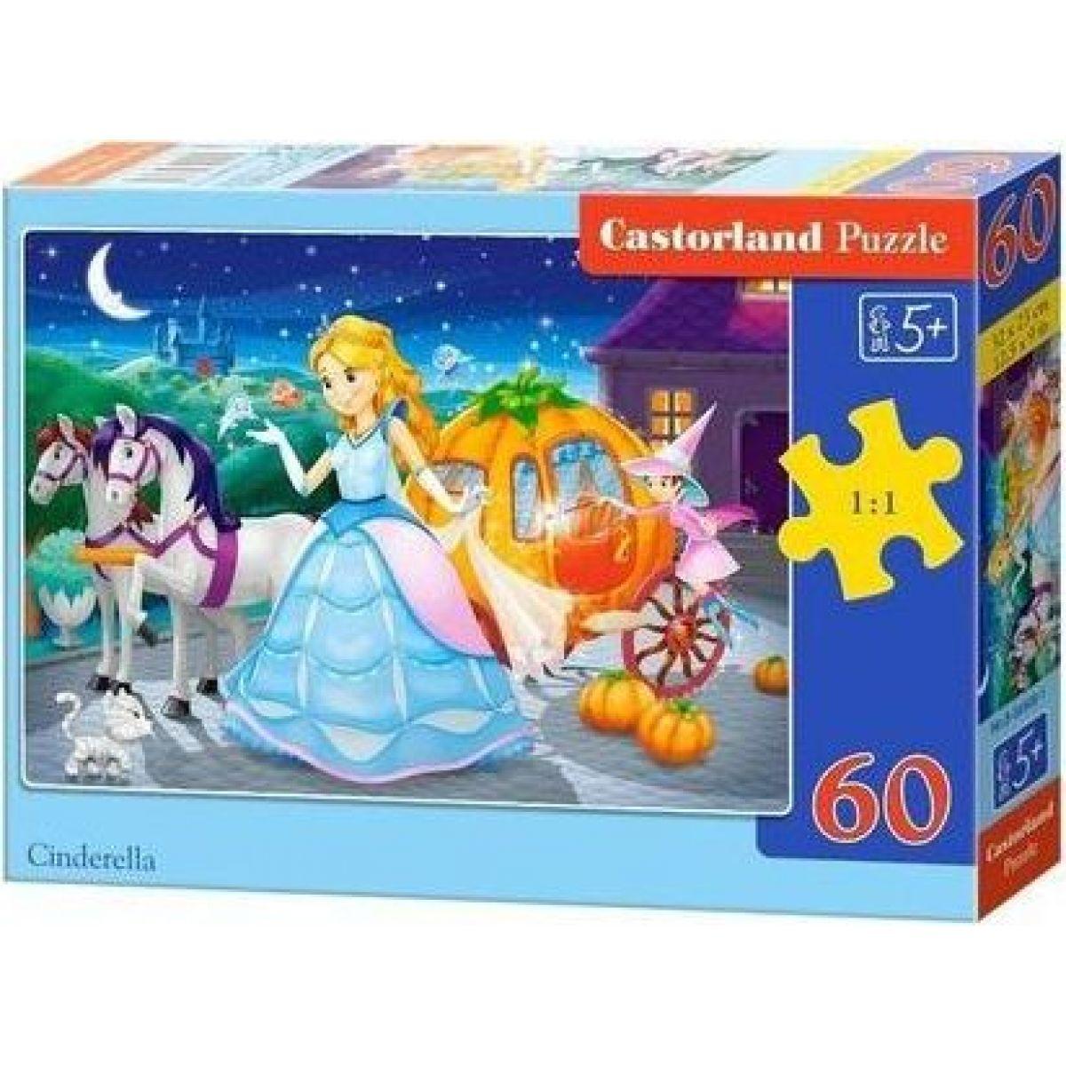 Castorland Puzzle Popelka 60 dílků